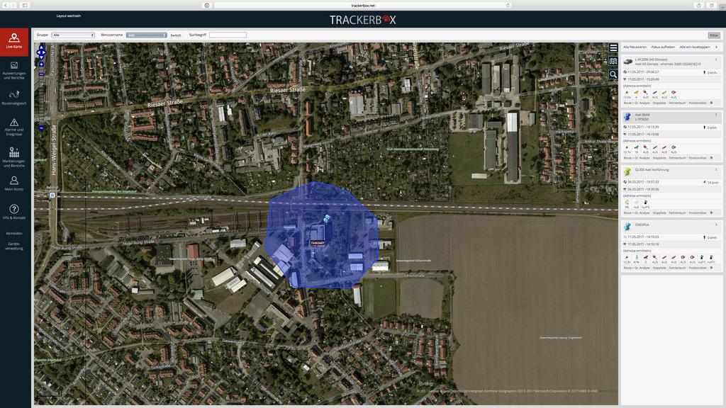 Trackerbox Screenshot