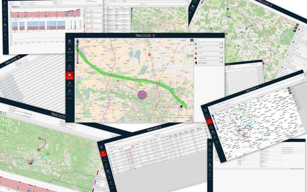 Trackerbox Funktionen Übersicht